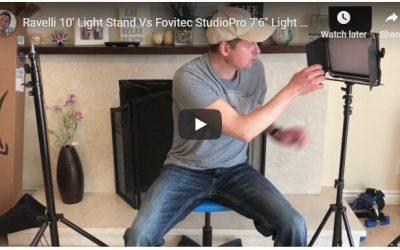 Ravelli 10′ Light Stand Vs Fovitec StudioPro 7'6″ Light Stand