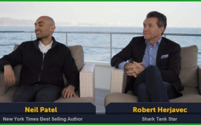 Invest in Startups with Shark Tank Star Robert Herjavec & Serial Entrepreneur Neil Patel
