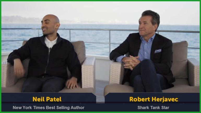 Invest in Startups with Shark Tank Star Robert Herjavec & Serial Entrepreneur Neil Patel