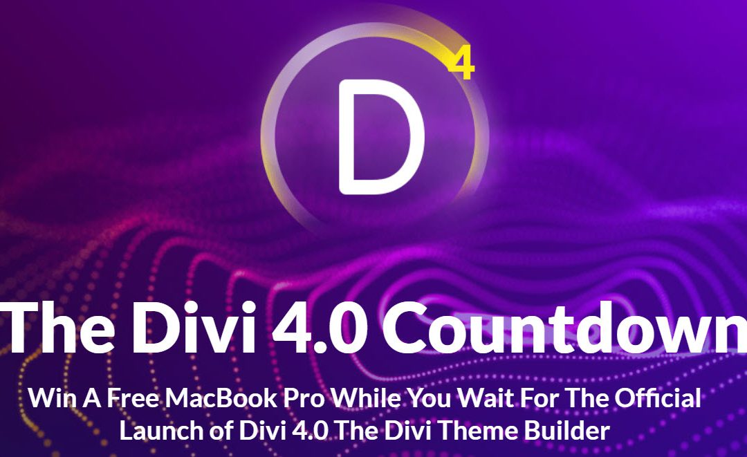 Finally, the Divi Theme Builder & Divi 4.0 has a Firm Release Date: One-click Updating at its Best!